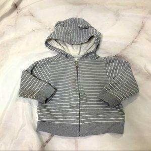 Old Navy Baby Bear Ears Hooded Sweater 6-12M